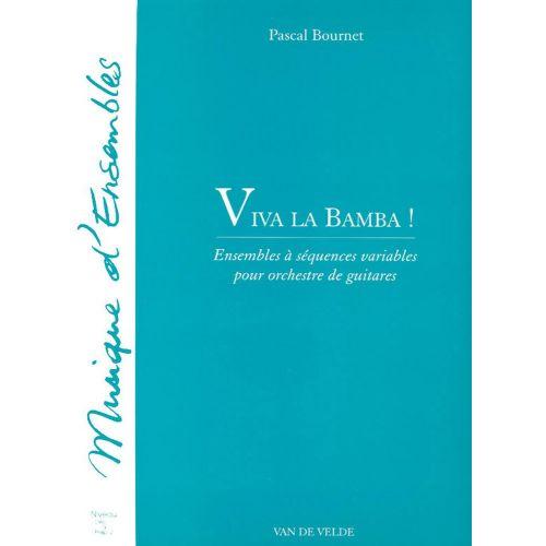 VAN DE VELDE BOURNET PASCAL - VIVA LA BAMBA ! - ENSEMBLE DE GUITARES