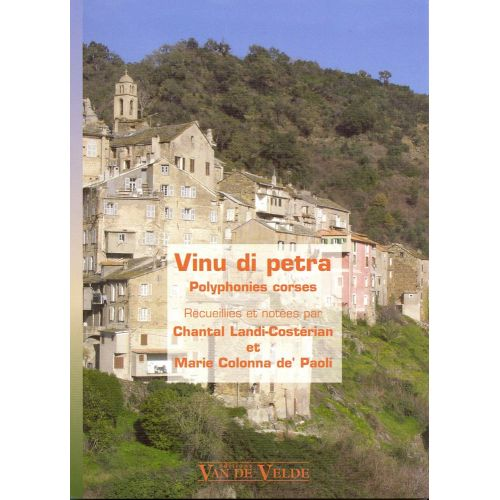 VAN DE VELDE VINU DI PETRA - POLYPHONIES CORSES - 3 VOIX