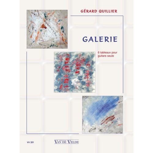 VAN DE VELDE QUILLIER GERARD - GALERIE - GUITARE