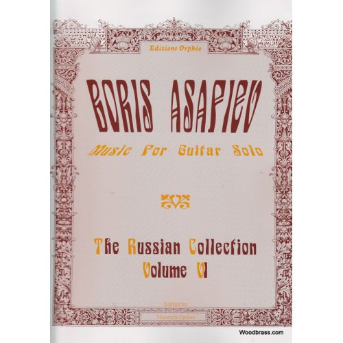 ORPHEE THE RUSSIAN COLLECTION VOL. 6 - GUITARE