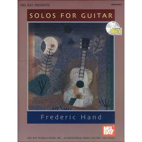 MEL BAY HAND F. - SOLOS FOR GUITAR + AUDIO ACCESS