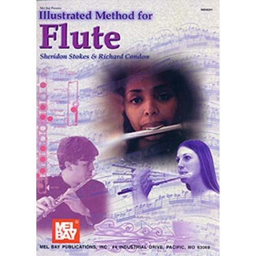 MEL BAY STOKES SHERIDON - ILLUSTRATED METHOD FOR FLUTE - FLUTE