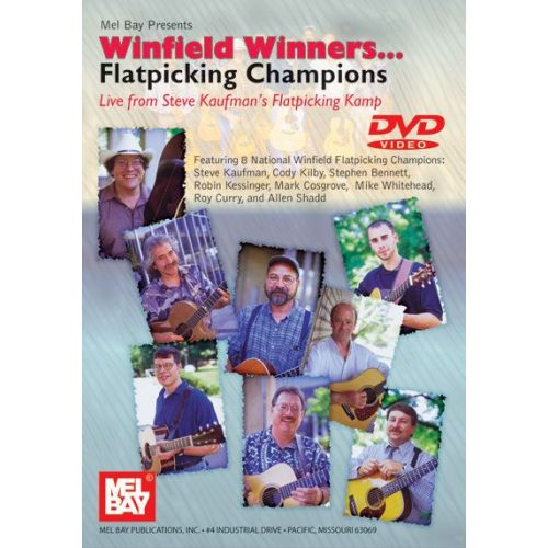 MEL BAY WINFIELD WINNERS... FLATPICKING CHAMPIONS - GUITAR