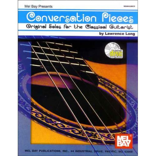 MEL BAY LONG LAWRENCE - CONVERSATION PIECES + CD - GUITAR