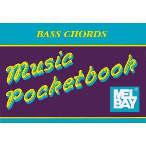 MEL BAY BAY WILLIAM - BASS CHORDS POCKETBOOK - ELECTRIC BASS