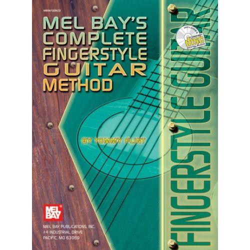 MEL BAY FLINT TOMMY - COMPLETE FINGERSTYLE GUITAR METHOD + CD - GUITAR