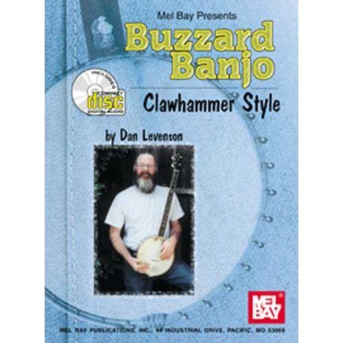 MEL BAY LEVENSON DAN - BUZZARD BANJO - CLAWHAMMER STYLE + CD - BANJO