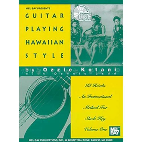 MEL BAY KOTANI OZZIE - GUITAR PLAYING HAWAIIAN STYLE + CD - GUITAR