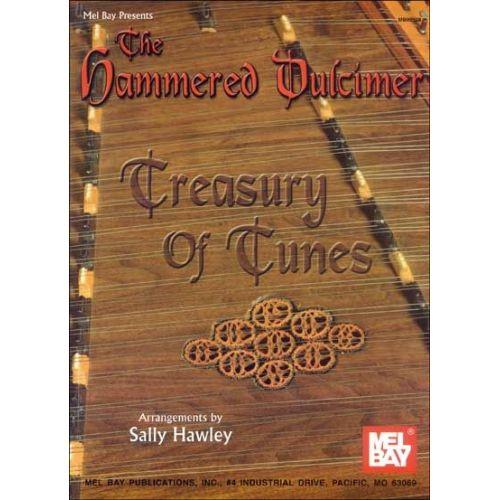 MEL BAY HAWLEY SALLY - THE HAMMERED DULCIMER TREASURY OF TUNES - DULCIMER