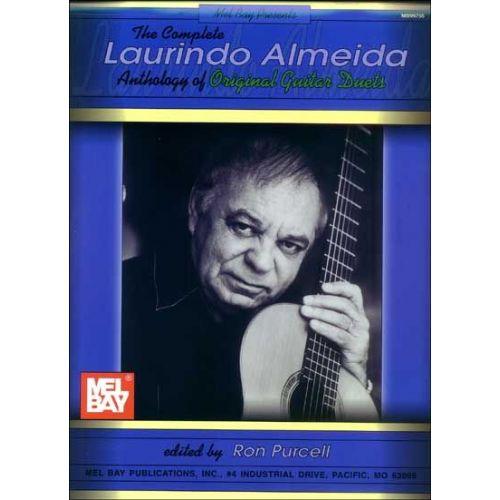 MEL BAY ALMEIDA LAURINDO - THE COMPLETE LAURINDO ALMEIDA ANTHOLOGY OF ORIGINAL GUITAR DUETS - GUITAR