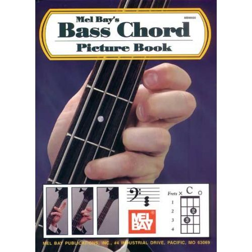 MEL BAY BAY WILLIAM - BASS CHORD PICTURE BOOK - ELECTRIC BASS