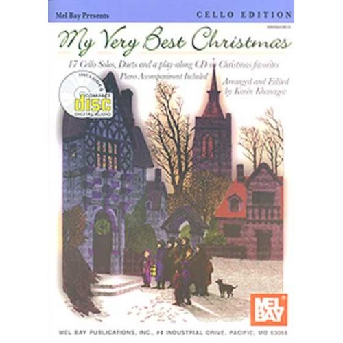 MEL BAY KHANAGOV KAREN - MY VERY BEST CHRISTMAS, CELLO EDITION + ONLINE AUDIO - CELLO
