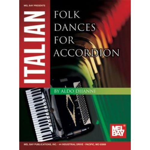 MEL BAY DIIANNI ALDO - ITALIAN FOLK DANCE - ACCORDION