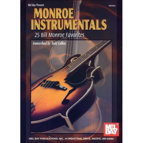 MEL BAY COLLINS TODD - MONROE INSTRUMENTALS - FIDDLE AND MANDOLIN