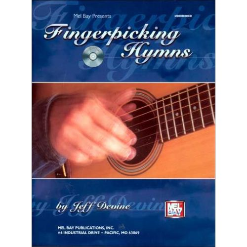 MEL BAY DEVINE JEFF - FINGERPICKING HYMNS + CD - GUITAR