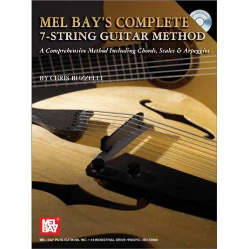 MEL BAY BUZZELLI CHRIS - COMPLETE 7-STRING GUITAR METHOD + CD - GUITAR