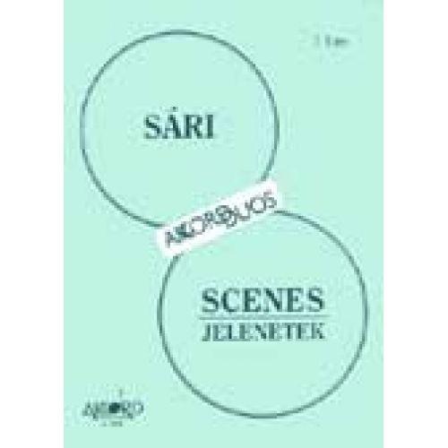 AKKORD SARI JOZSEF - SCENES - DEUX FLUTES