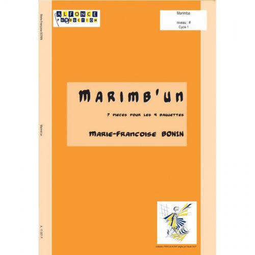 ALFONCE PRODUCTION BONIN MARIE-FRANCOISE - MARIMB'UN