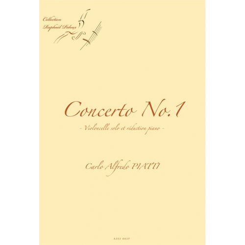 ALFONCE PRODUCTION PIATTI C.A. - CONCERTO N°1 - VIOLONCELLE ET PIANO