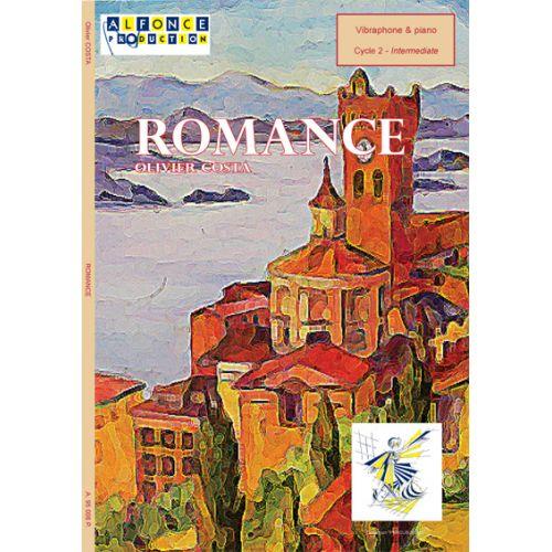 ALFONCE PRODUCTION COSTA O. - ROMANCE - VIBRAPHONE ET PIANO