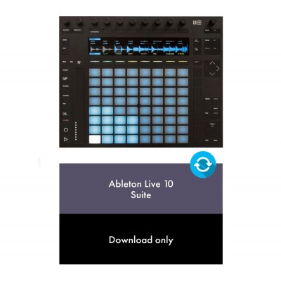 ABLETON PACK PUSH 2 LIVE 10 SUITE UPG