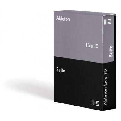 ABLETON LIVE 10 SUITE EDITION (VERSION BOITE)
