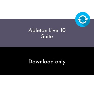 ABLETON LIVE 10 SUITE - UPGRADE DE LIVE 7-9 SUITE
