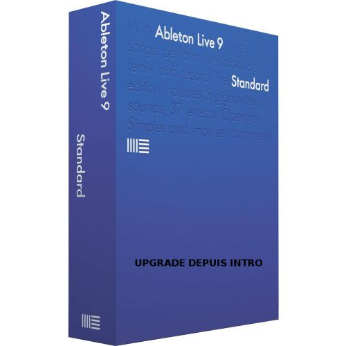 ABLETON ABLETON SUITE 9 UPGRADE EDU DE 10 A 24 LICENCES (PRIX UNITAIRE)