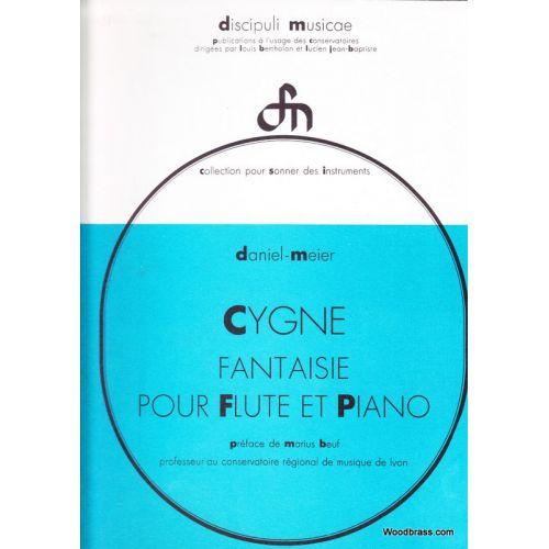 CHOUDENS MEIER DANIEL - CYGNE FANTAISIE - FLUTE & PIANO