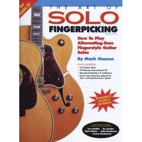MUSIC SALES HANSON MARK - ART OF SOLO FINGERPICKING + CD - GUITAR TAB