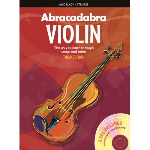 HAL LEONARD ABRACADABRA VIOLIN + 2 CDs