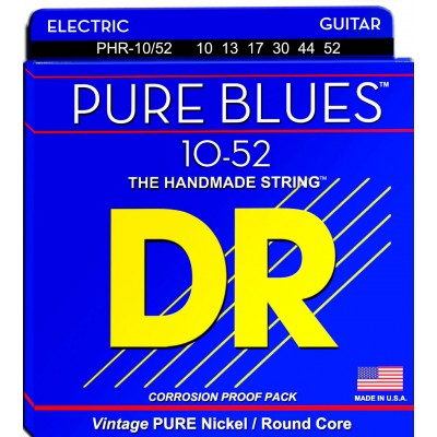 DR STRINGS 10-52 PHR-10/52 PURE BLUES