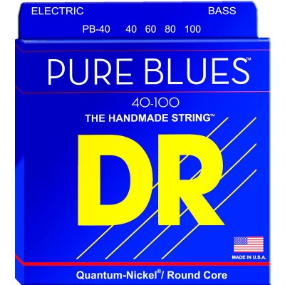 DR STRINGS 40-100 PB-40 PURE BLUES