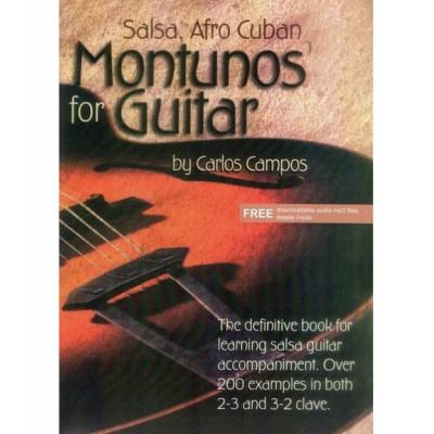 ADG PRODUCTIONS CAMPOS CARLOS - SALSA AFRO CUBAN MONTUNOS FOR GUITAR