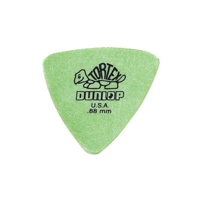 DUNLOP ADU 431P88 - TRIANGLE TORTEX PLAYERS PACK - 0,88 MM (BY 6)
