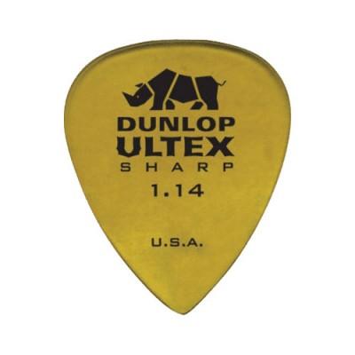 DUNLOP PICK ULTEX SHARP 1.14MM