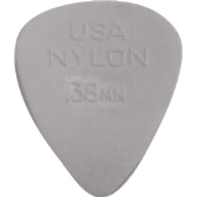 DUNLOP MEDIATOR NYLON STANDARD 0.38 MM