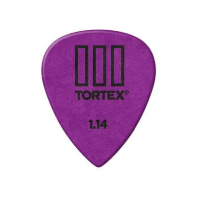 DUNLOP ADU 462R114  -  TORTEX T3 PLAYERS PACK - 1,14 MM (TO THE UNIT)
