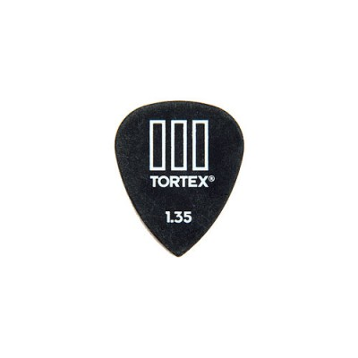 DUNLOP ADU 462R135 - TORTEX T3 PLAYERS PACK - 1,35 MM (TO THE UNIT)