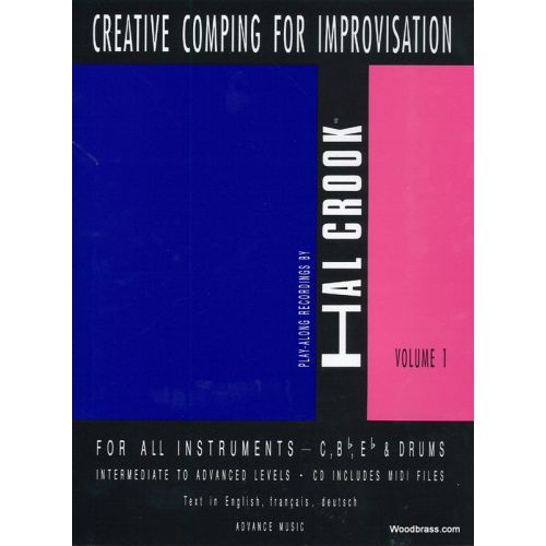 ADVANCE MUSIC CROOK H. - CREATIVE COMPING FOR IMPROVISATION VOL. 1 + CD