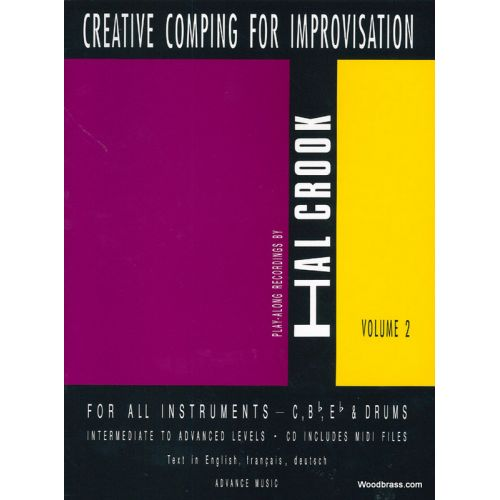 ADVANCE MUSIC CROOK H. - CREATIVE COMPING FOR IMPROVISATION VOL. 2 + CD