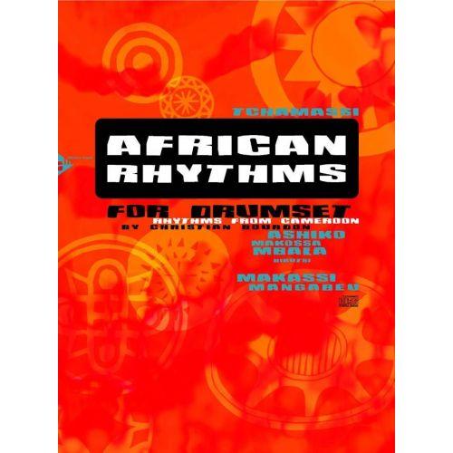 ADVANCE MUSIC BOURDON CH. - AFRICAN RHYYTHMS FOR DRUMSET + CD