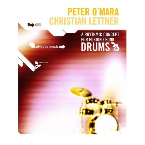 ADVANCE MUSIC O'MARA P. - A RHYTHMIC CONCEPT FOF FUNK/FUSION DRUMS + CD