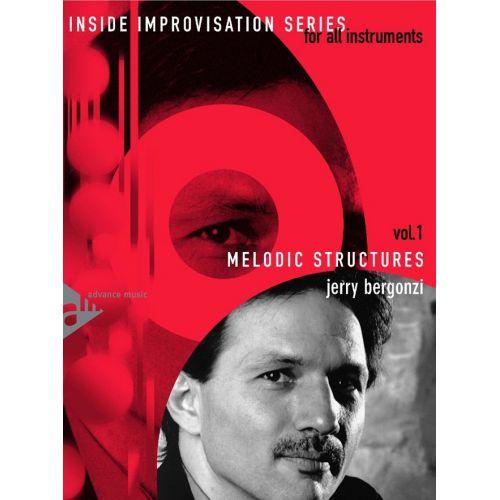 ADVANCE MUSIC BERGONZI J. - MELODIC STRUCTURES