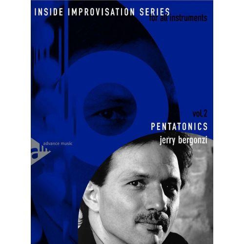 ADVANCE MUSIC BERGONZI J. - PENTATONICS + CD