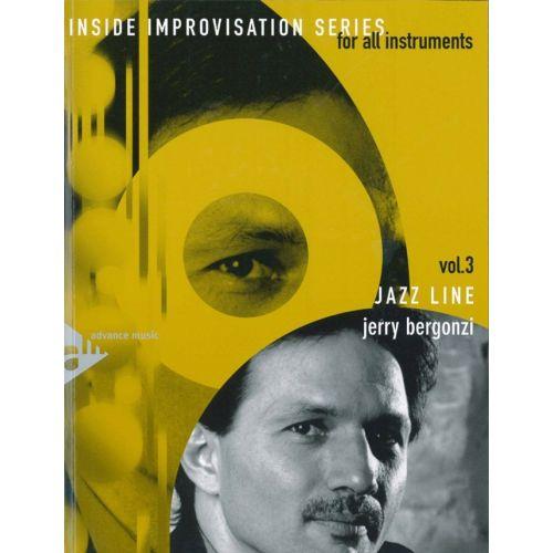 ADVANCE MUSIC BERGONZI J. - INSIDE IMPROVISATION VOL. 3 - JAZZ LINE + CD