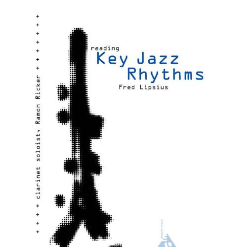 ADVANCE MUSIC LIPSIUS FRED - READING KEY JAZZ RHYTHMS - CLARINETTE