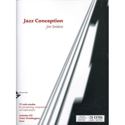 ADVANCE MUSIC SNIDERO J. - JAZZ CONCEPTION FOR BASS + CD