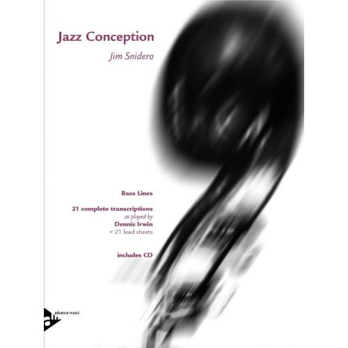 ADVANCE MUSIC SNIDERO J. - JAZZ CONCEPTION BASS LINES + CD