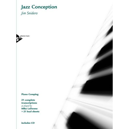 ADVANCE MUSIC SNIDERO J. - JAZZ CONCEPTION - PIANO